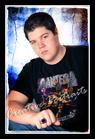 senior portrait