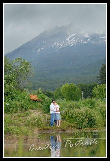 Mount Shasta Wedding
