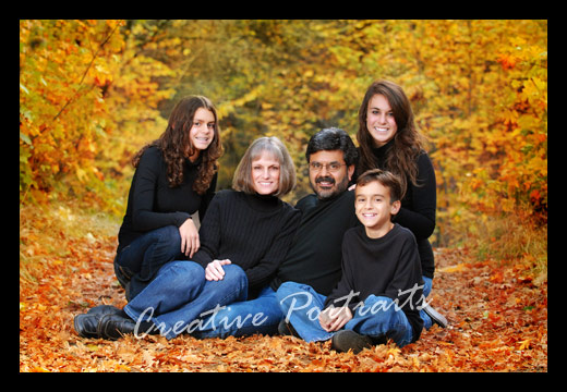 fall family portraits outdoors and happy thanksgiving redding