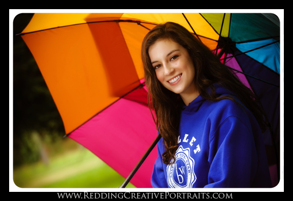 redding senior photographer