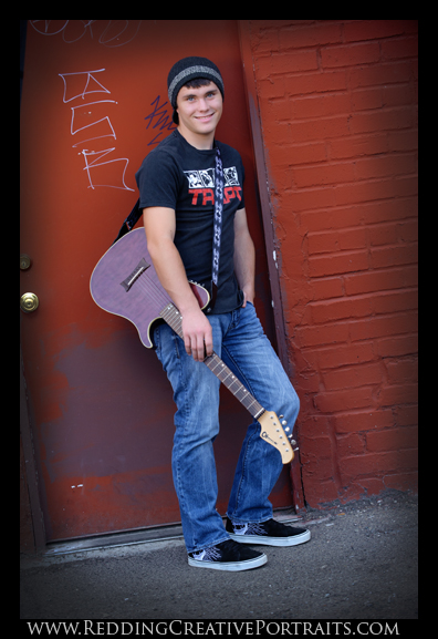 Foothill High Guitar senior photo