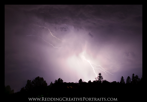 redding lightning photo