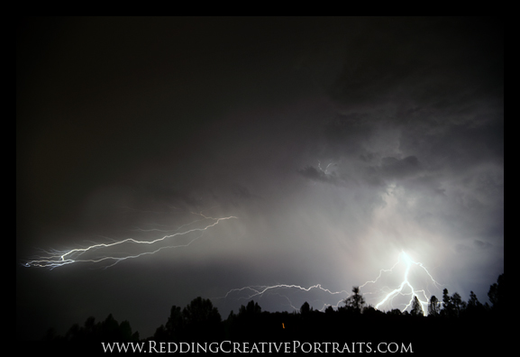 lightning in redding september 2011