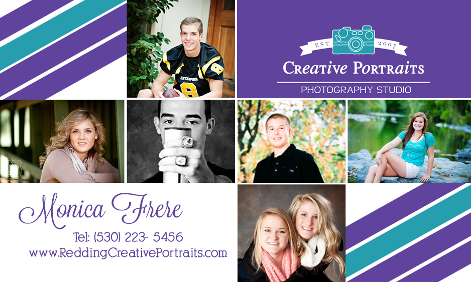 New business cards for redding ca photography studio redding redding ca senior portrait photography studio reheart Image collections
